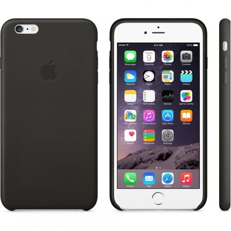 Apple iPhone 6 Plus Leather Case - Black MGQX2